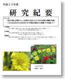 平成25年度研究紀要(PDF)